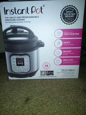 New in box Instant Pot 3 qt duo mini 7 in 1 for Sale in Everett, WA