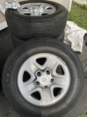 New tundra rims and tires for Sale in Winter Haven, FL