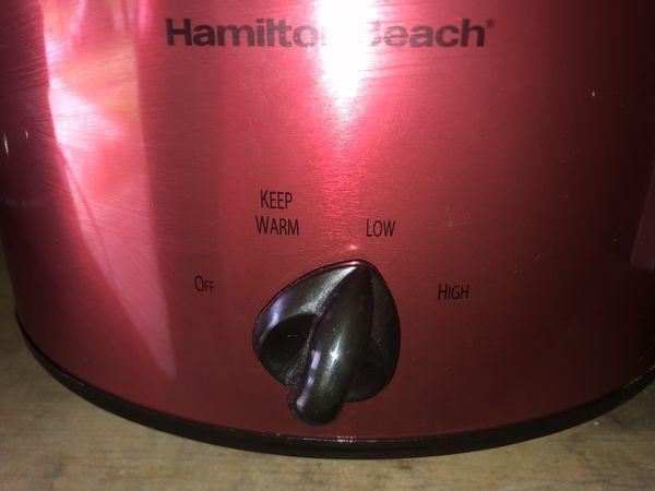 Hamilton Beach 3 qt. Slow Cooker