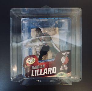 Damian Lillard Portland Trail Blazers NBA Basketball McFarlane RC Rookie Debut Action Figure Series 23 - BRAND NEW! for Sale in Citrus Heights, CA