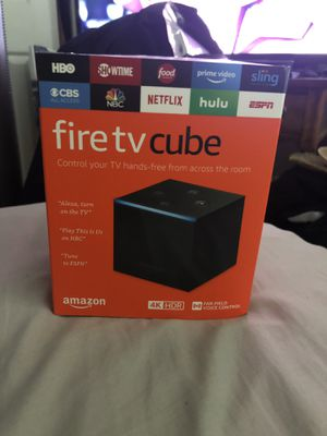 Amazon Fire TV Cube for Sale in Glen Allen, VA