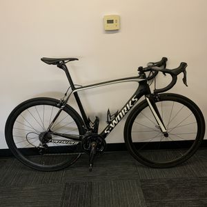 Specialized S-Works Tarmac Dura-Ace, Quarq Power Meter, Aerofly Bars, 56CM for Sale in El Cajon, CA