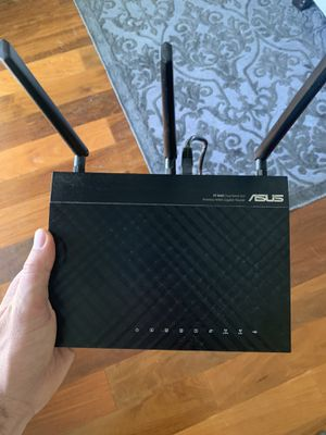 ASUS Dual-Band 3x3 Wireless-N900 Gigabit Router for Sale in San Carlos, CA