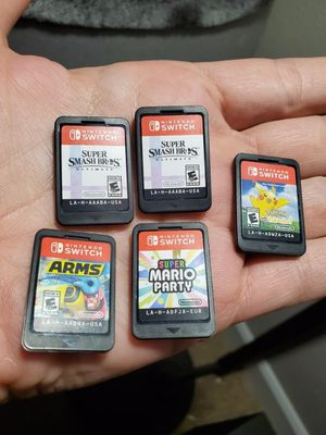 Switch. Lots of games. Negotiate!!! for Sale in Beaverton, OR