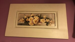 Portrait/painting pink roses French country for Sale in Springfield, VA