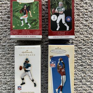 NFL Hallmark Christmas Ornaments - Shipping Included for Sale in Buffalo, NY