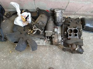 Some miscellaneous small blocks chevy parts out of my 1971 monte carlo for Sale in Riverside, CA
