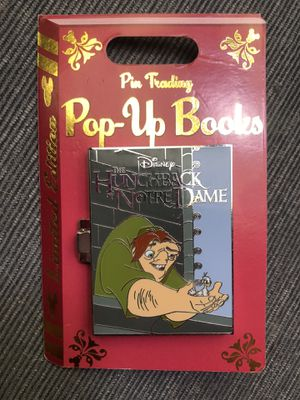 Pop-Up Books Disney Pin for Sale in Claremont, CA