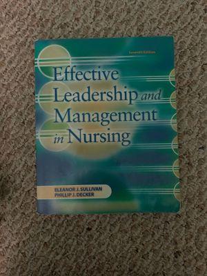 Effective leadership and management in Nursing for Sale in Fort Lauderdale, FL