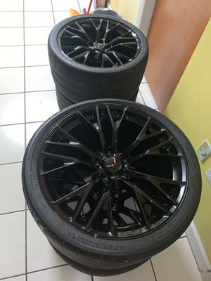 Corvette z06 rims wheels C7 for Sale in Miami, FL