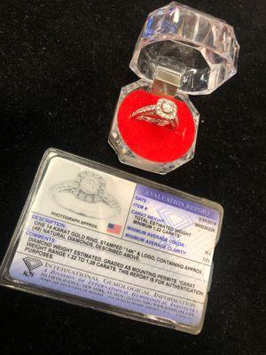 14kt white gold/diamond ring #99372-1 for Sale in Gilbert, AZ