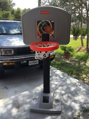 Adjustable Basketball Hoop Fisher price for Sale in Kissimmee, FL