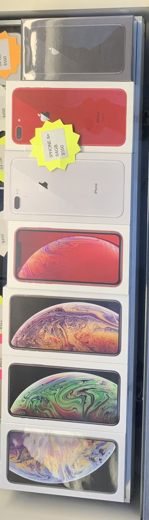 iPhone XS Max, iPhone XR, iPhone 8 Plus , & iPhone 8 for Sale in Fontana, CA
