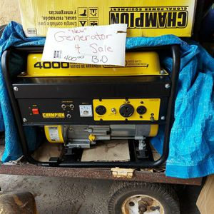 Champion Generator for Sale in Crystal River, FL
