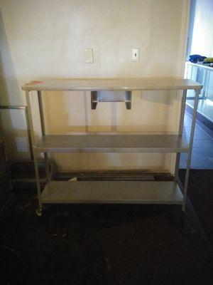 Metal rolling shelves for Sale in Newport News, VA