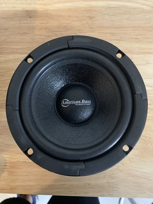 "5"" Sealed Back Midrange Speaker 200W 8 Ohm Pro Car Audio American Bass SQ 5C for Sale in Pomona, CA"