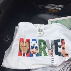 Marvel T Shirt Sz Large Marvel Brand T-shirt Size Lrg for Sale in Marysville, OH