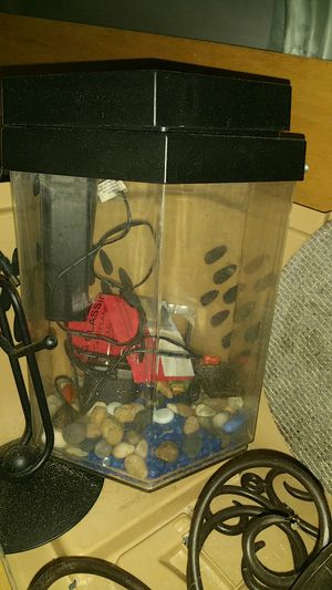 Small Fish Tank Complete with pump for Sale in Winter Park, FL