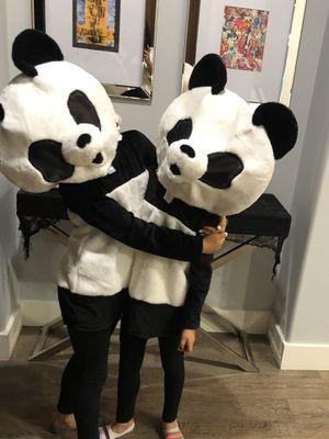 Pottery Barn kids Big head panda costume for Sale in San Juan Capistrano, CA
