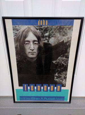 RARE 1987 JOHN LENNON / Dear Mr. Fantasy poster by Ethan Russell - Beatles for Sale in Duluth, GA