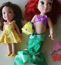 Ariel & Belle Princess Dolls for Sale in Casselberry,  FL