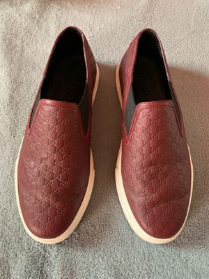 Gucci slip on burgundy maroon Size 9 US Size 39 in gucci for Sale in Discovery Bay, CA