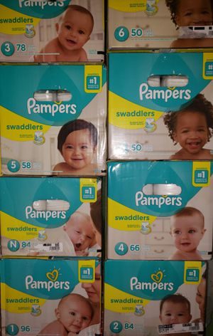 Pampers swaddles diapers for Sale in Los Angeles, CA
