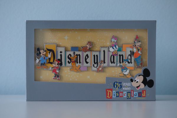 Disneyland Park 65th Anniversary Marquee Pin - Limited Edition
