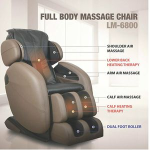 Zero Gravity Full-Body Kahuna Massage Chair Recliner LM6800 with Yoga & Heating Therapy (Brown) for Sale in Kolin, LA