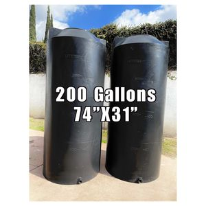NEW... Vertical Storage Water💧Tanks (200GALLON)☀️HYDROPONIC!. for Sale in Santa Ana, CA