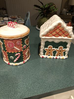 Gingerbread Cookie Jars for Sale in Miramar, FL
