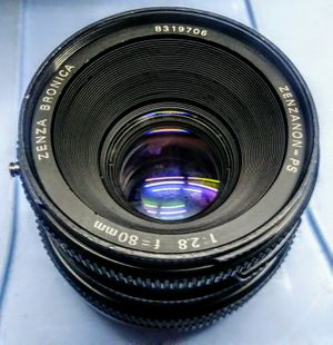 Bronica sqai 80mm 2.8 lens good condition for Sale in Hialeah, FL