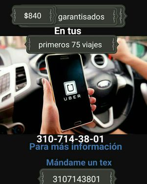 Uber trabaja de driver ganate bonos extras for Sale in Lynwood, CA