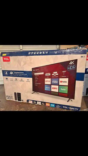 55 inch TCL roku smart TV for Sale in Atlanta, GA