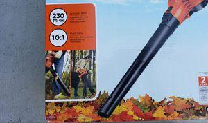 Black & Decker 12 amp blower / vacuum / mulcher for Sale in Riverside, CA