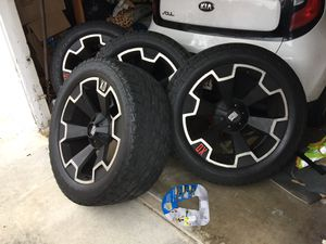 XD off road rims and tires for Sale in Chula Vista, CA