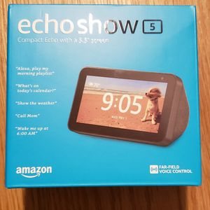 Amazon Echo Show 5 Sealed and Brand New for Sale in Seattle, WA