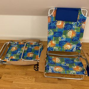 Aluminum Beach Chairs (2) - Excellent Condition! for Sale in Revere, MA