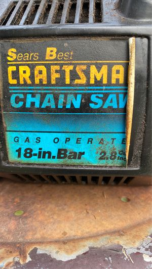 Craftsmen chainsaw for Sale in McLoud, OK