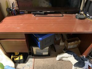 Nice desk barely used two drawers for Sale in Pembroke Pines, FL