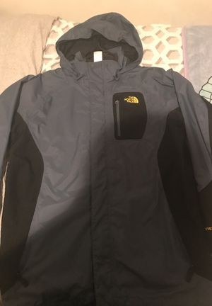 Teal NorthFace Rain coat // Size: Kids Large for Sale in Fort Belvoir, VA