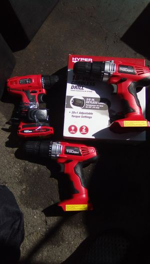 3._Hypertough drills for Sale in Santee, CA