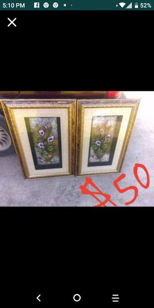 Antique glass wall decor for Sale in Port Arthur, TX