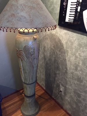 Elephant floor lamp for Sale in Signal Hill, CA
