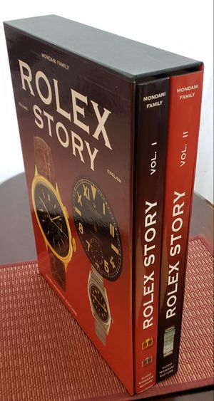 """Very Rare Limited Edition: """"Rolex Story"""" (Mondani) For Serious Collectors. Only 300 Copies Worldwide for Sale in Annandale, VA"""