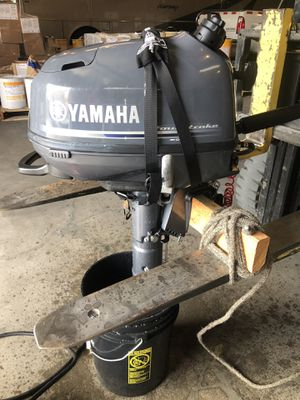 Yamaha 6hp outboard motor 2019 for Sale in Westminster, CA