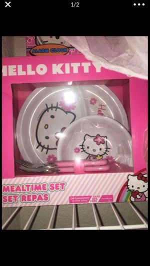 Hello kitty meal time set for Sale in Cape Coral, FL