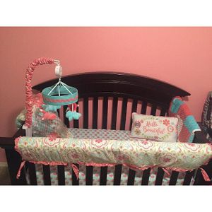 Baby Cache crib/ Toddler Bed with Serta Matress for Sale in North Richland Hills, TX
