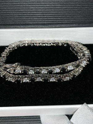 Sapphire and diamond bracelet for Sale in Fort Pierce, FL