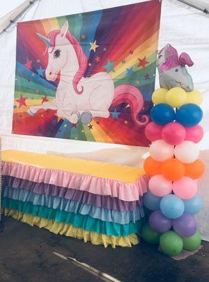 unicorn party decoration for Sale in Los Angeles, CA